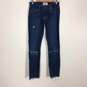 Paige Verdugo Ultra Skinny Distressed Jeans